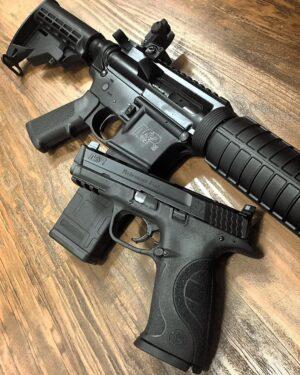 try a firearm