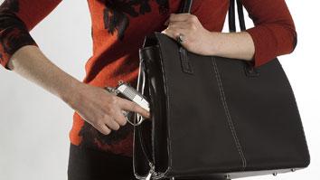 woman purse